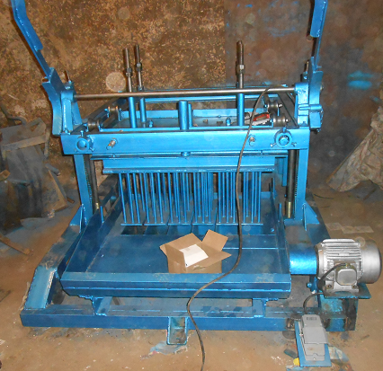 plate type block Machine